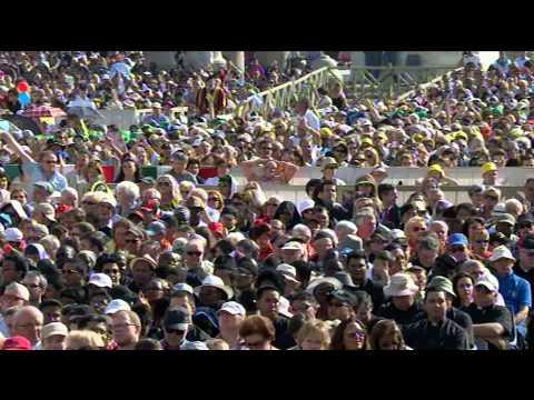 1.október: Audiencia s pápežom Františkom