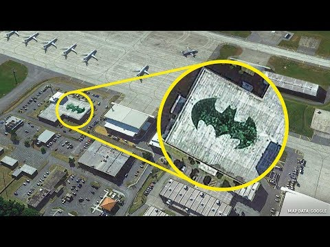 18 Tempat Yang Google Earth Tidak Mau Anda Lihat
