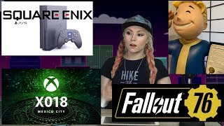 Gaming News: Square Enix NEW PS5 Game! Fallout 76 Mic ALWAYS ON? Nintendo Sues Couple for $12 Mil!