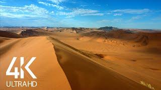 8 HOURS Desert Wind Sounds Blowing Across Sand Dunes - 4K Nature Soundscapes