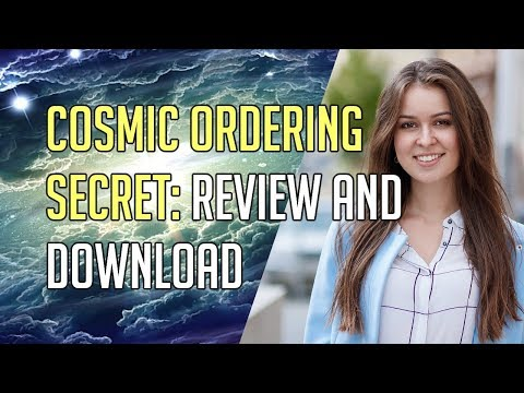Cosmic Ordering Secret – Full Law of Attraction Documentary ☑️