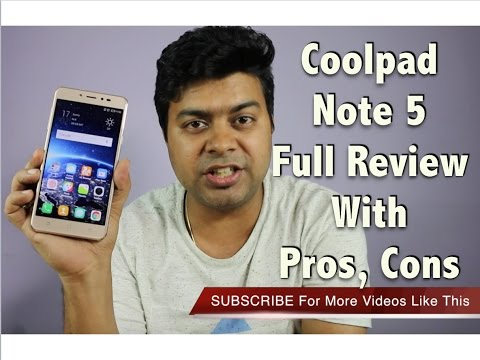Hindi | Coolpad Note 5 Full Review, Pros, Cons, Comparison, Camera, Features | Gadgets To Use