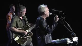 Howard Jones performing No One Is To Blame with the Bare Naked Ladies