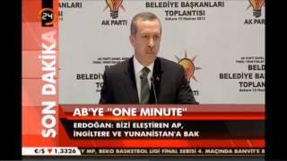 Recep Tayyip Erdoğan: GEZİ PARKI PİSLİKTEN GEÇİNMİYOR! [YENI]