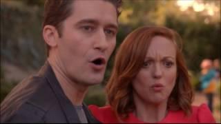 Extrait (VO) : Blaine et Rachel sont visés par les Vocal Adrenaline