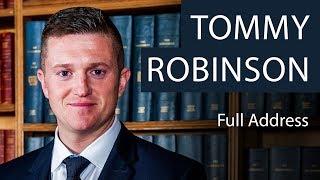 Tommy Robinson - Main Speech