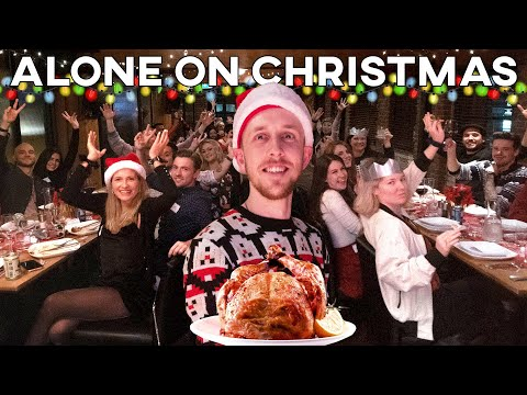 My friend hosted a Christmas dinner for 50 Strangers who were alone in Vancouver for the Holidays