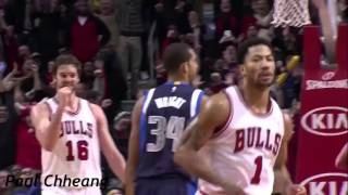 Derrick Rose - Remember The Name Fort Minor Rocky Mix - HD