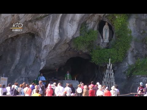 Messe de 10h à Lourdes du 8 juin 2021