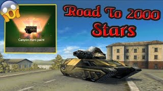 Tanki Online - Road to 2000 Stars #1   Silver Bricks Paint Preview! + OPENING CONTAINERS!