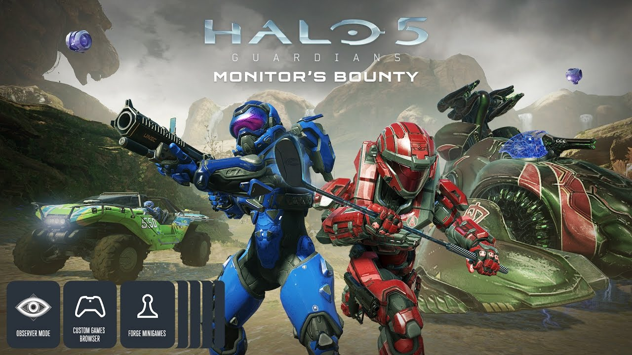 Halo 5: Avance de Forge Monitor's Bounty