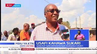 Usafi  Kahawa Sukari: Wakazi wahamasishwa kuhusu usafi ili kukabiliana na COVID-19