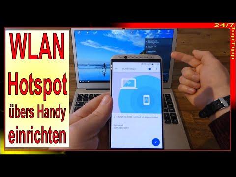 WLAN Hotspot mit dem Smartphone einrichten - Überall im Internet mit Notebook Laptop Tablet