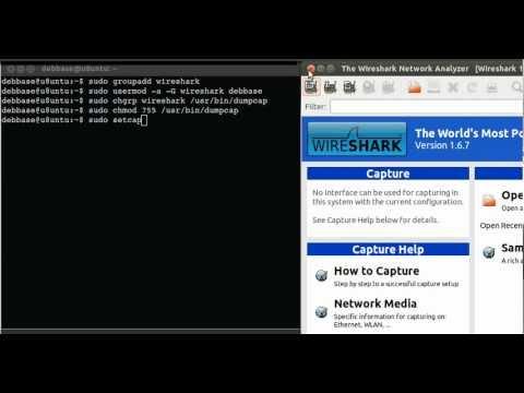 Install Wireshark in Ubuntu 12 04 LTS Precise Pangolin 64bit