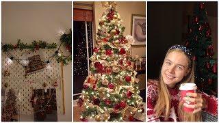 НОВОГОДНИЙ DIY! украшаем комнату и елку. VLOGMAS #1!