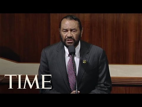 Rep. Al Green (D-TX) Calls for Trump impeachment