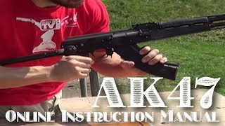 How To Unload And Load An AK47 Rifle
