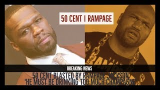 50 Cent BLASTED by Rampage Jackson in UFC RESPONSE