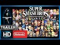 Super Smash Bros Ultimate Trailer Overview Feat The Ann