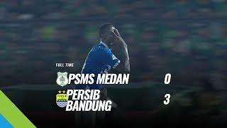 Cuplikan Gol Persib Hancurkan PSMS Tiga Gol Tanpa Balas