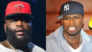 "Rick Ross Goes HARD At 50 Cent THROAT "" I Was Gonna SMOKE Him Myself, He CROSSED The Line!!"