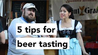 5 Tips For Beer Tasting