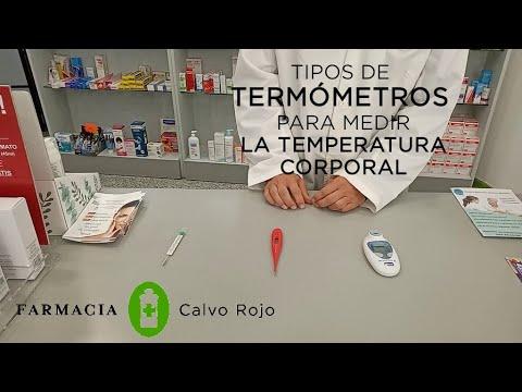 Tipos de termómetros para medir la temperatura corporal