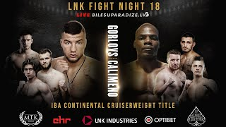 LIVE LATVIAN BOXING WARRIORS from LNK - undercard stream