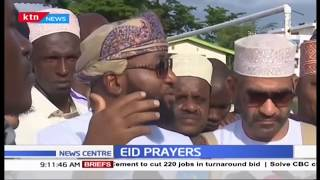 Eid prayers in Mombasa | KTN NEWS CENTRE