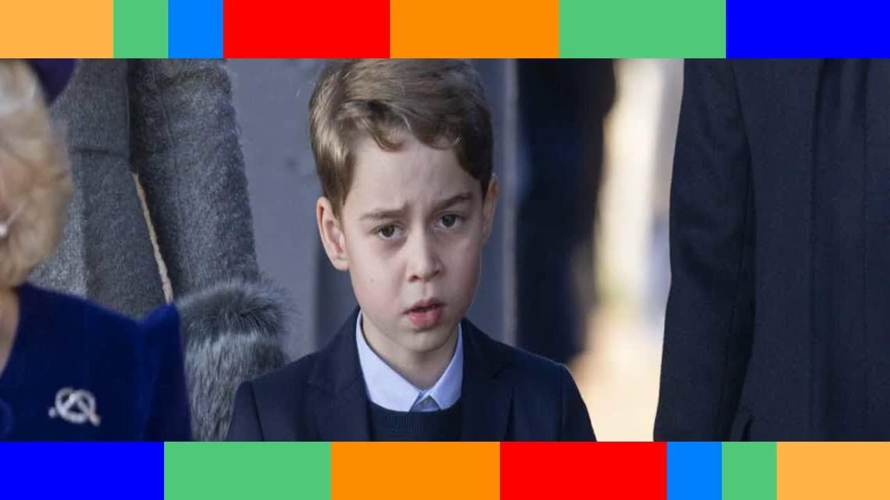 Le prince George déboussolé cette sortie scolaire qui l'a beaucoup contrarié