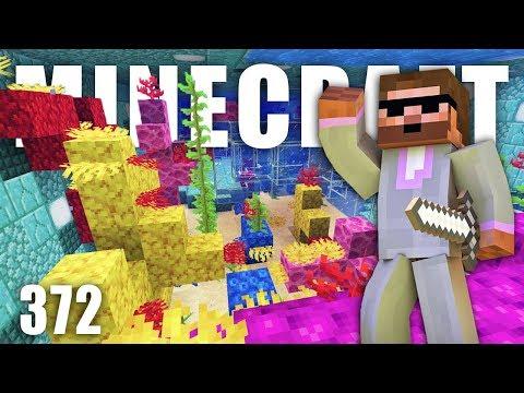 VRAK, TAJNÝ TUNEL A KORÁLY V AKVÁRIU! | Minecraft Let's Play #372