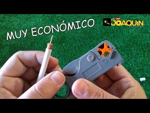 PELACABLE PARA CABLE COAXIAL O DE ANTENA Y MUCHO MAS.