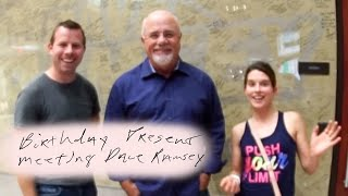 "Wife Says ""No Turbo"" + Meeting Dave Ramsey"