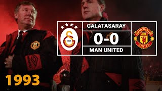 Nostalji Maçlar | 1993-1994 Sezonu Galatasaray 0 - 0 Manchester United