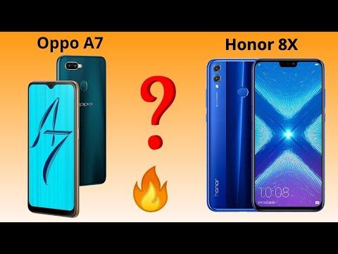 HONOR 8X VS OPPO A7 CAMERA' COMPARISON ! DETAILED ! [HINDI/URDU