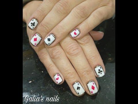 Las Vegas manicure. Дизайн ногтей для поездки в Лас Вегас. Маникюр подруге.