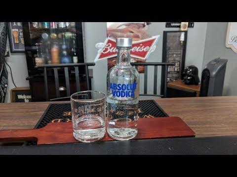 Absolut Vodka Review!