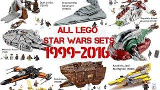 All Lego Star Wars Sets (1999 - 2016)