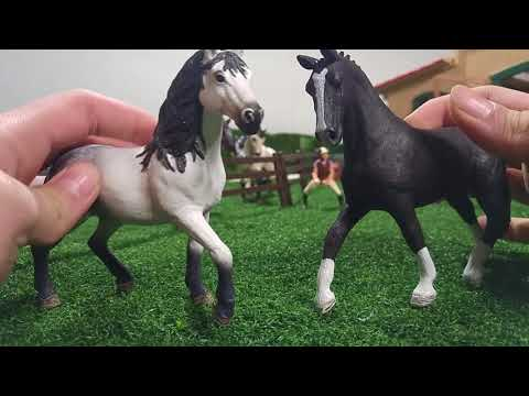 Schleich horse model dares 2017 part 1, please read the description roleplay 玩具 장난감 demo jugetes