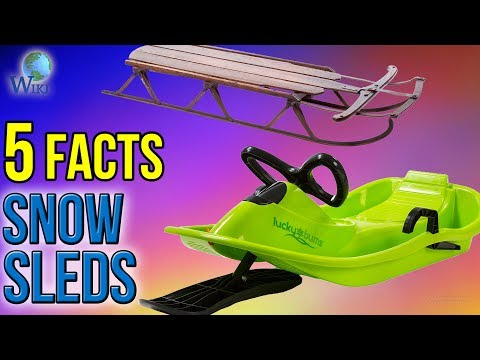 Snow Sleds: 5 Fast Facts