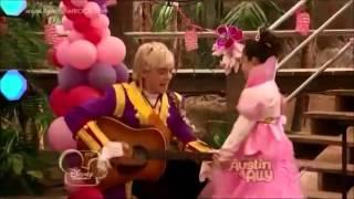 Austin & Ally   Upside Down With Lyrics