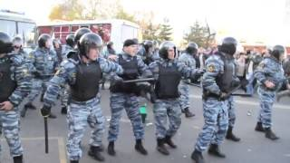 Москва. Погром в Бирюлево Беспорядки 13 октября, 2013