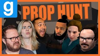 We are Video Game TRASH - Funhaus Plays Gmod Prop Hunt