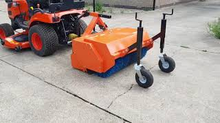 What can a power sweeper be used for? Power sweeper for sale