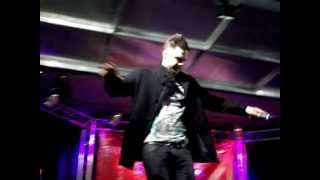 Scott Robinson from 5ive If Ya Gettin' Down at Stevenage Christmas Lights Switch-on 2009