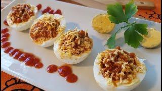 Receta - Huevos rellenos  | Cocina con rock