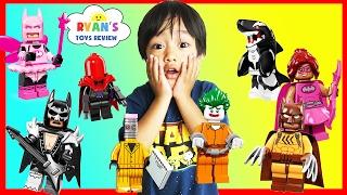 THE LEGO BATMAN MOVIE Toy Collection Minifigures Blind Bag Challenge Superhero Surprise Kids Toys