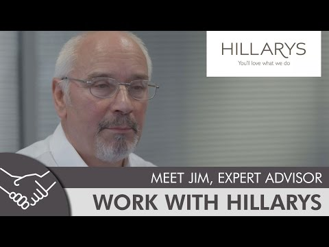 Meet Jim, expert advisor at Hillarys YouTube video thumbnail
