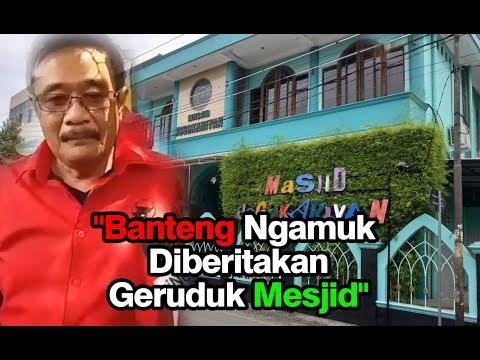 """PDIP Bakal Polisikan Penyebar Berita """"Penyerangan Mesjid Jogokariyan Yogyakarta"""""""