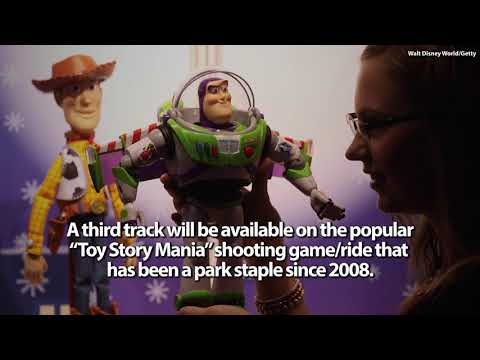 Opening Of Toy Story Land Announced By Disney
